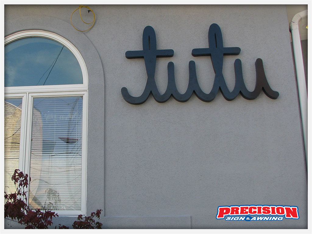 Routed Signs Pittsburgh | Precision Sign & Awning